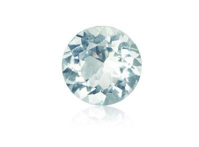 akvamarín 10.52ct light blue s IGI certifikátem