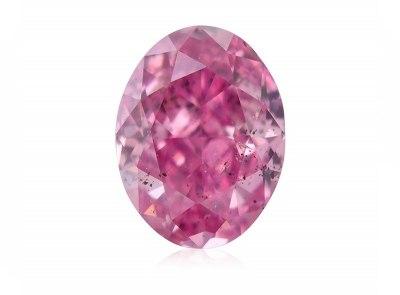 0.15ct 4P Fancy Intense Pink/I1 s ARG a GIA certifikáty