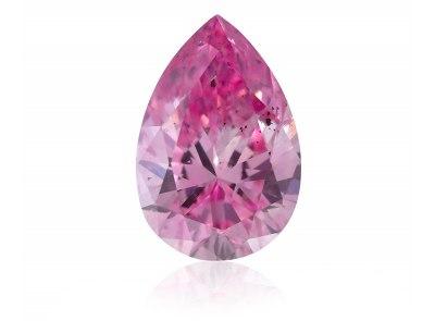 0.16ct 5PP (Fancy Intense Purplish Pink)/I1 s ARG certifikátem