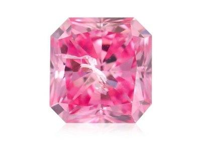 0.26ct 5PP Fancy Intense Purplish Pink/I1 s ARG a GIA certifikáty