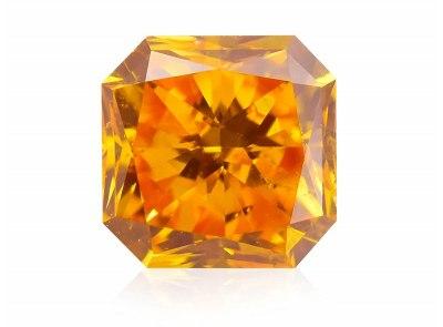 0.27ct Fancy Vivid Orange/SI1 s IGI certifikátem