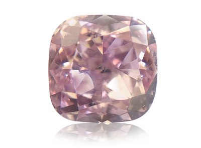 0.35ct Fancy Pink-Purple/SI1 s GIA certifikátem