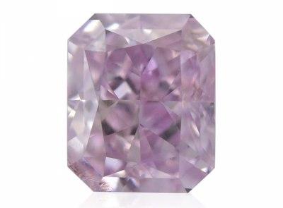 0.50ct Fancy Purple-Pink/SI2 s GIA certifikátem