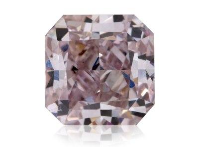 0.57ct Fancy Grayish Pink-Purple/SI1 s GIA certifikátem