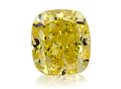 0.87ct Fancy Vivid Yellow/SI1 s IGI certifikátem