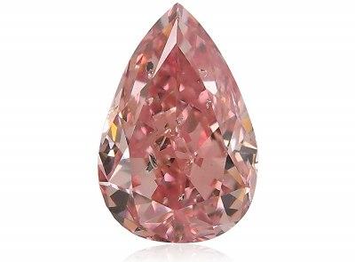 1.02ct 5PR (Fancy Intense Pink)/I1 s ARG certifikátem