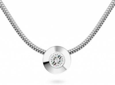 zlatý řetízek s diamantem 0.18ct D/VVS2 s IGI certifikátem