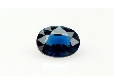 safír 3.01ct blue (tepelně neupraven) s GIA certifikátem