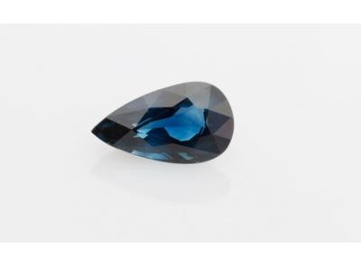 safír 3.11ct blue (tepelně neupraven) s GIA certifikátem