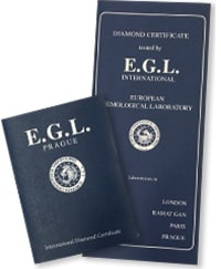 Certifikát EGL