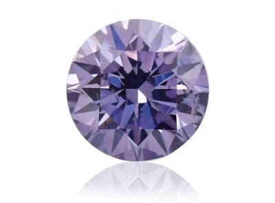 0.10ct Fancy Gray-Violet/SI2 s GIA a ARG certifikátem