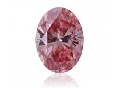 0.15ct 4PR (Fancy Intense Pink)/I1 s ARG certifikátem