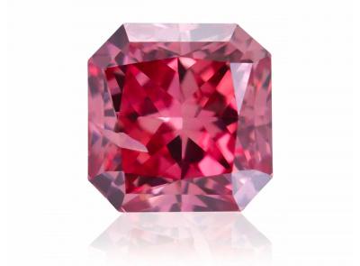 0.24ct 2PR (Fancy Vivid Pink)/I1 s ARG certifikátem