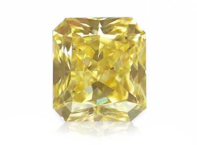 0.412ct Fancy Yellow/SI1 s IGI certifikátem