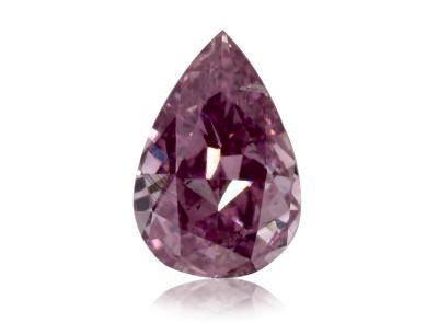 0.21ct Fancy Intense Pink-Purple/SI1 s GIA certifikátem