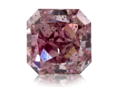 0.23ct Fancy Intense Purple-Pink/SI2 s GIA certifikátem