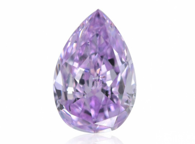 0.27ct Fancy Intense Pinkish Purple/SI2 s GIA certifikátem