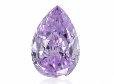 0.27ct Fancy Intense Pinkish Purple/SI2 s GIA certifikátem
