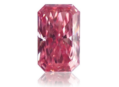 0.30ct Fancy Intense Pink/SI1 s GIA certifikátem