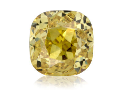 0.40ct Fancy Vivid Yellow/VS1 s GIA certifikátem