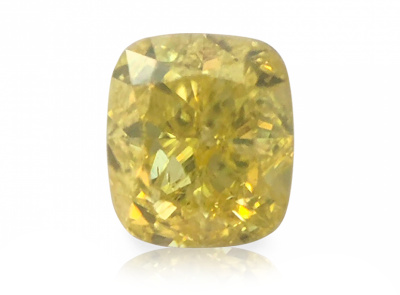 0.51ct Fancy Intense Yellow/I1 s IGI certifikátem