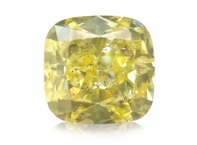 0.54ct Fancy Intense Yellow/I1 s IGI certifikátem