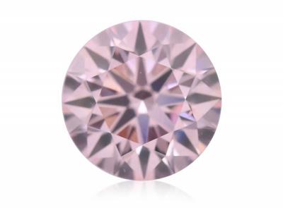0.60ct 8PR (Fancy Light Pink)/SI1 s ARG certifikátem