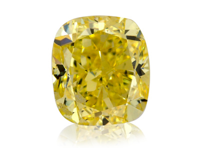 0.87ct Fancy Vivid Yellow/SI1 s IGI certifikátem
