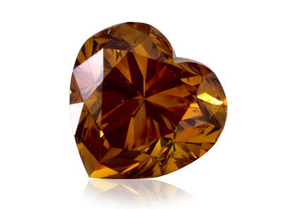 1.00ct Fancy Deep Yellow-Orange/SI1 s GIA certifikátem
