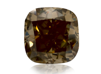 2.65ct Fancy Brown Yellow/I1 s GIA certifikátem