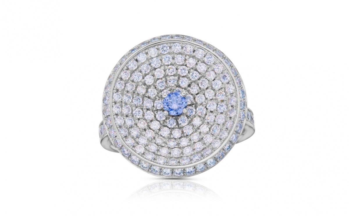 Investiční zlatý prsten s diamantem