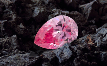růžový diamant Argyle