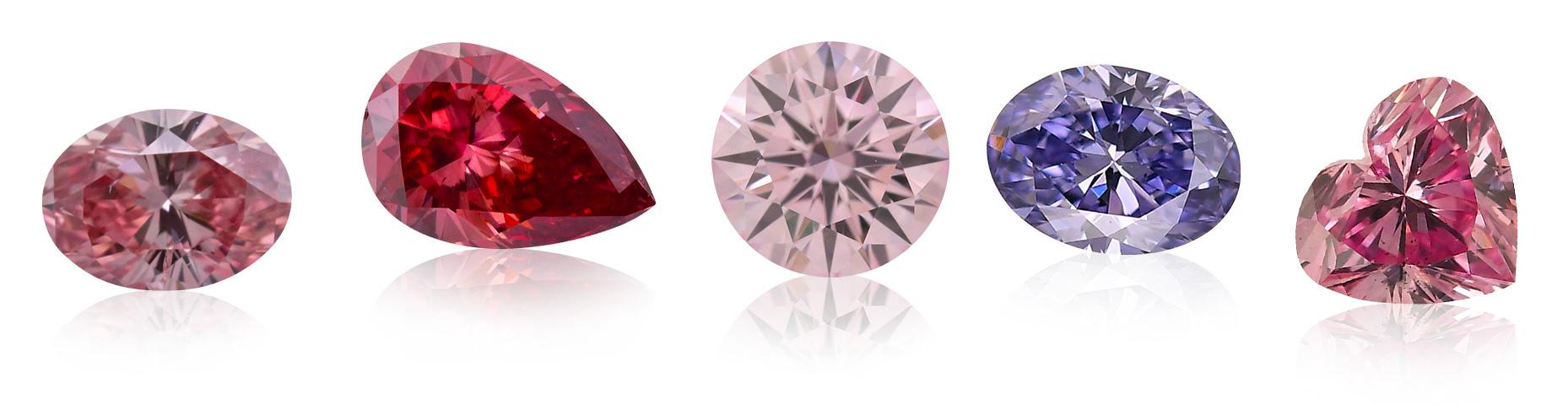 Barevné diamanty Argyle