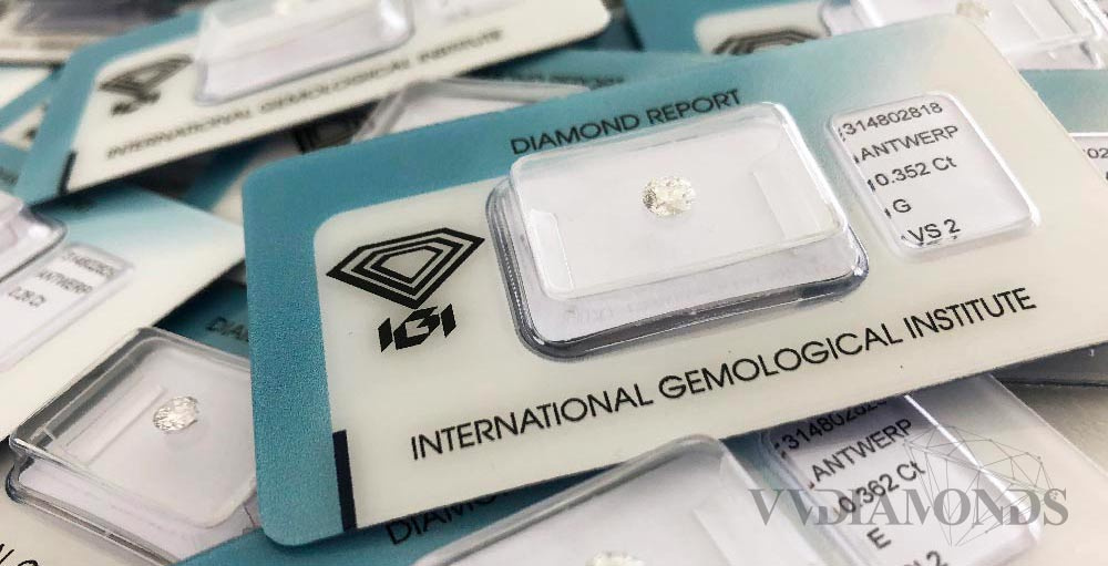 certifikované diamanty