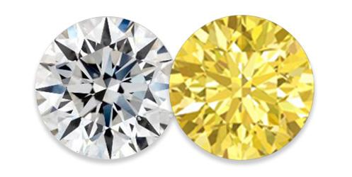 barva diamantu