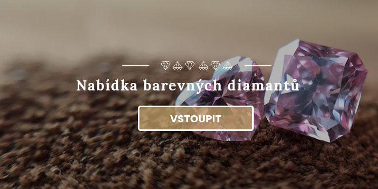 Nabídka barevných diamantů