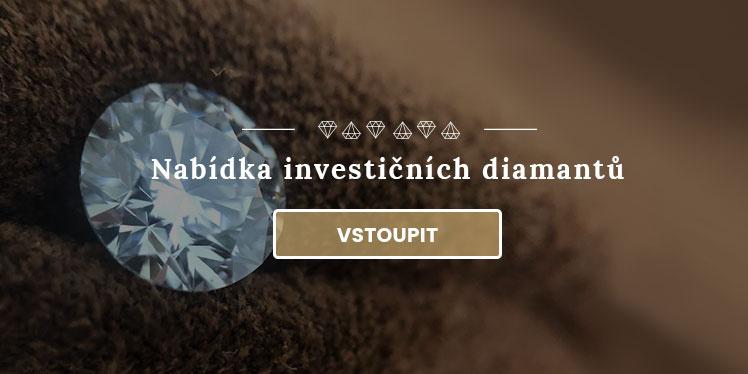 Nabídka investičních diamantů