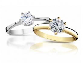 diamantové prsteny