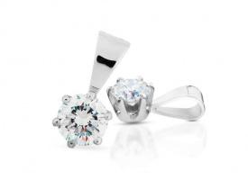 Přívěsek s diamantem