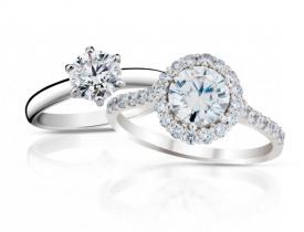 zásnubní prsteny s diamantem