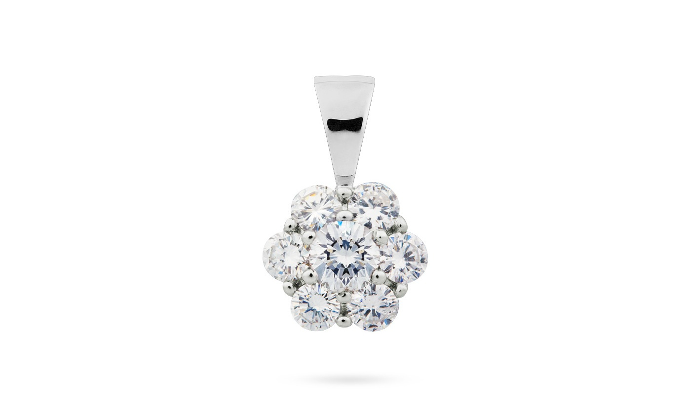 Iluzivní zasazení diamantů