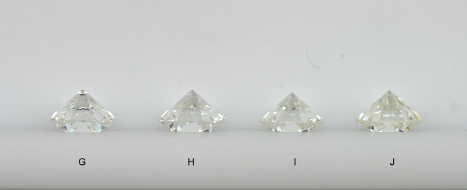 diamanty barvy G, H, I a J
