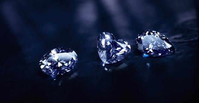 modré diamanty argyle