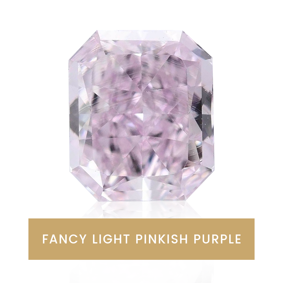 fancy light pinkish purple