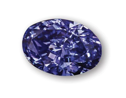 argyle fialový diamant