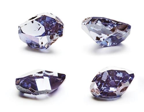 fialová diamant návrh brusu