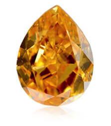 Oranžový diamant
