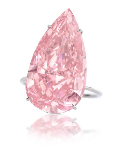 Růžový diamant Unique Pink