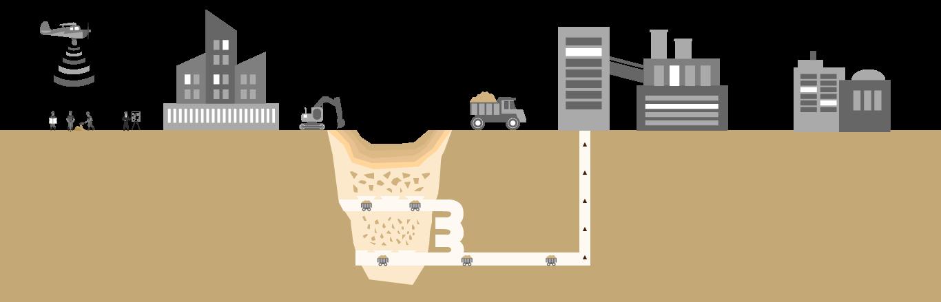 diamantový důl