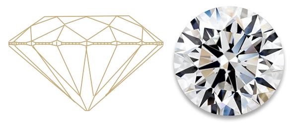Brus diamantu - excelent